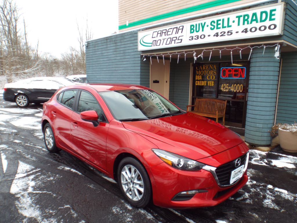2017-MAZDA-3-SPORT-FOR-SALE-Twinsburg-Ohio for sale at Carena Motors