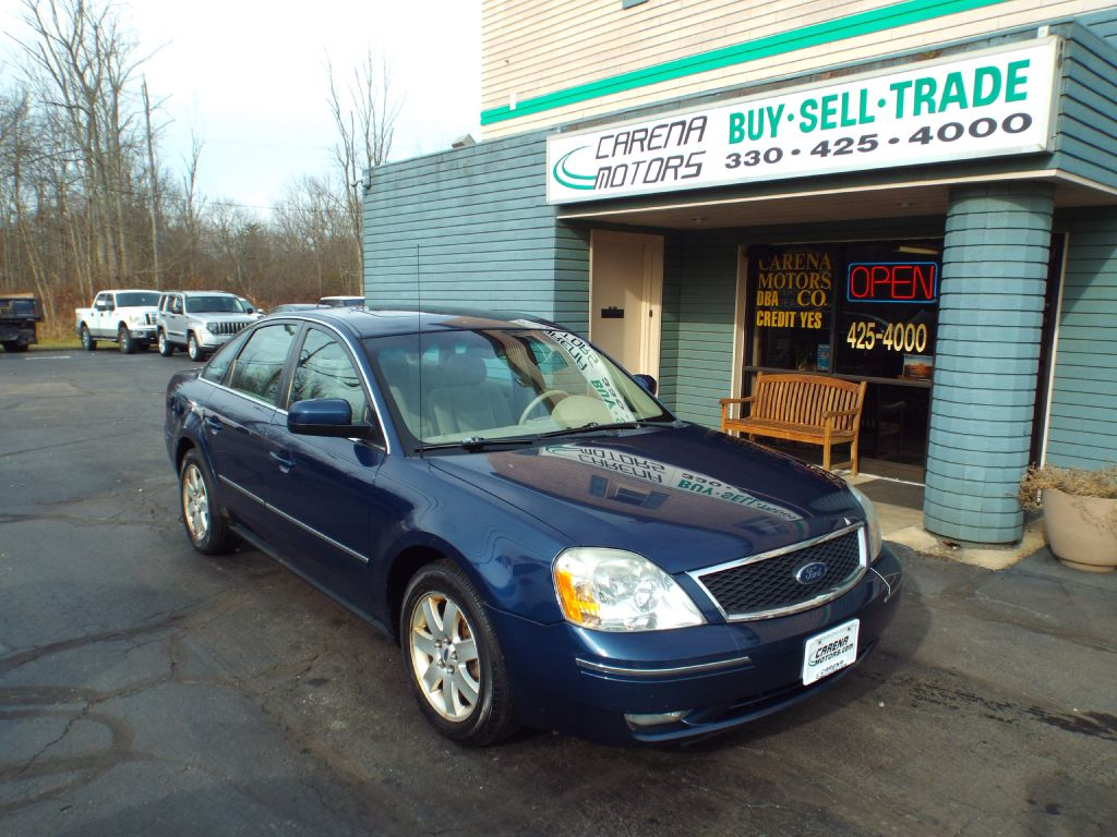 2005 FORD FIVE HUNDRED SEL for sale in Twinsburg, Ohio