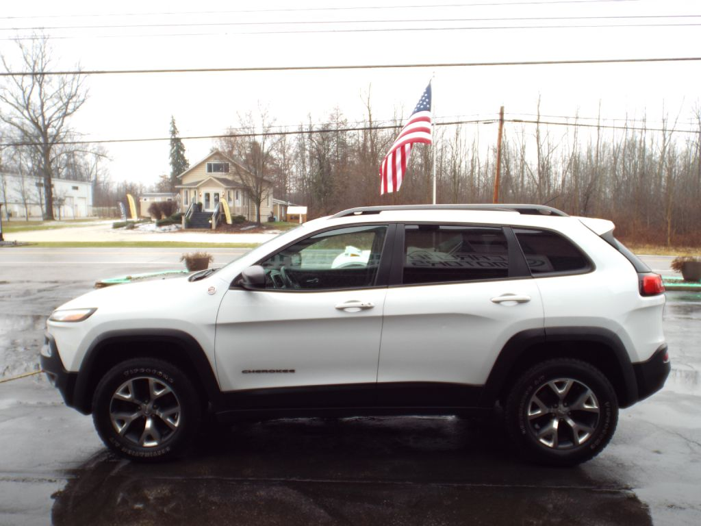 2014 Jeep Cherokee Trailhawk For Sale At Carena Motors