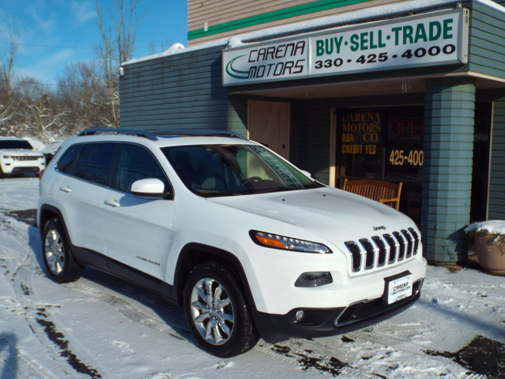 2014 JEEP CHEROKEE LIMITED for sale in Twinsburg, Ohio