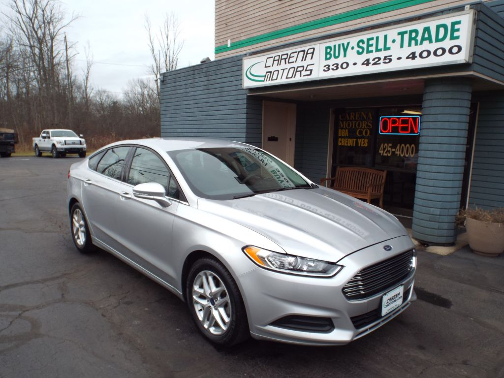 2014 FORD FUSION SE for sale in Twinsburg, Ohio