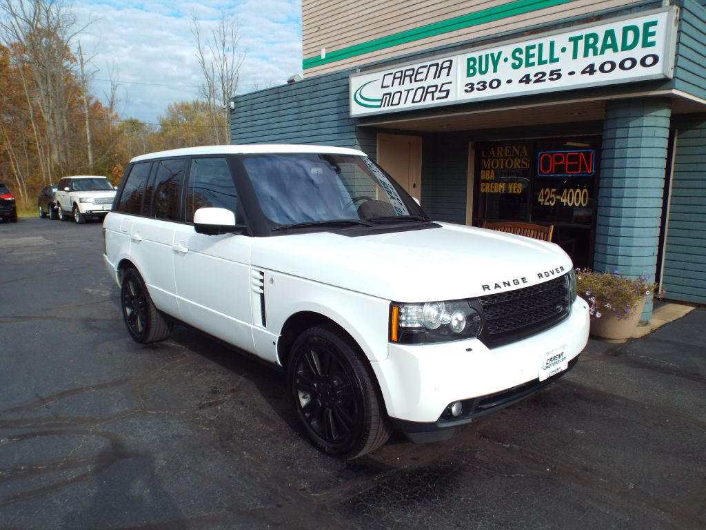 2012 LAND ROVER RANGE ROVER HSE LUXURY for sale in Twinsburg, Ohio