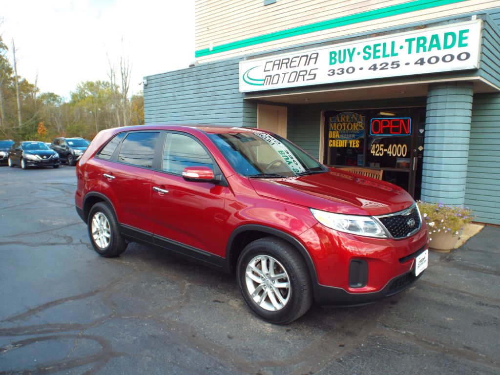 2014 KIA SORENTO LX for sale in Twinsburg, Ohio