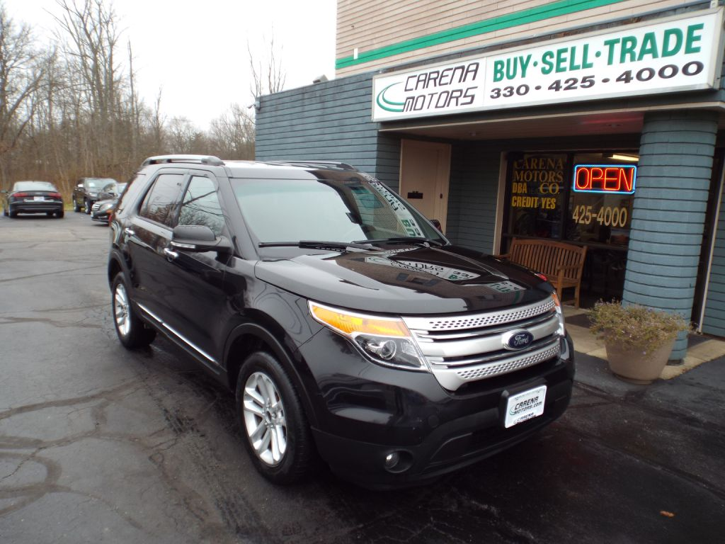 2015 FORD EXPLORER XLT for sale in Twinsburg, Ohio