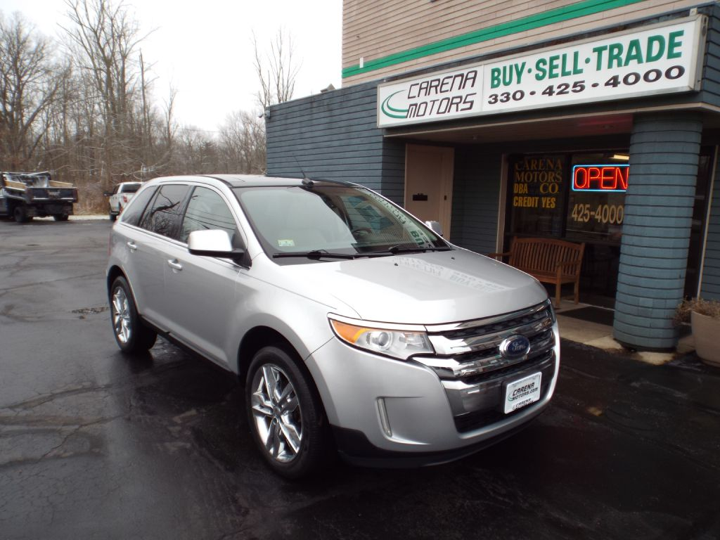 2011 FORD EDGE LIMITED for sale in Twinsburg, Ohio