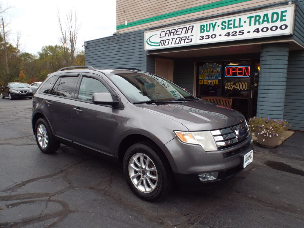 2010 FORD EDGE SEL for sale in Twinsburg, Ohio