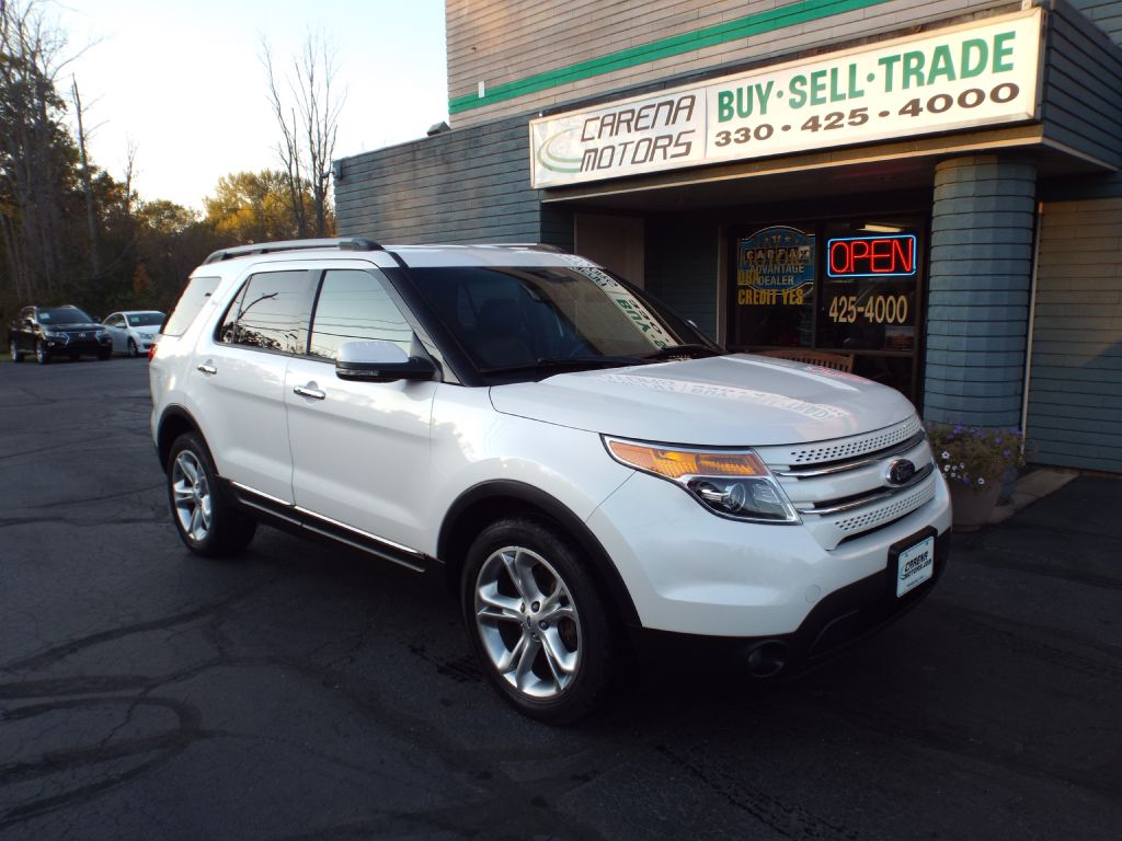 2013 FORD EXPLORER LIMITED for sale in Twinsburg, Ohio