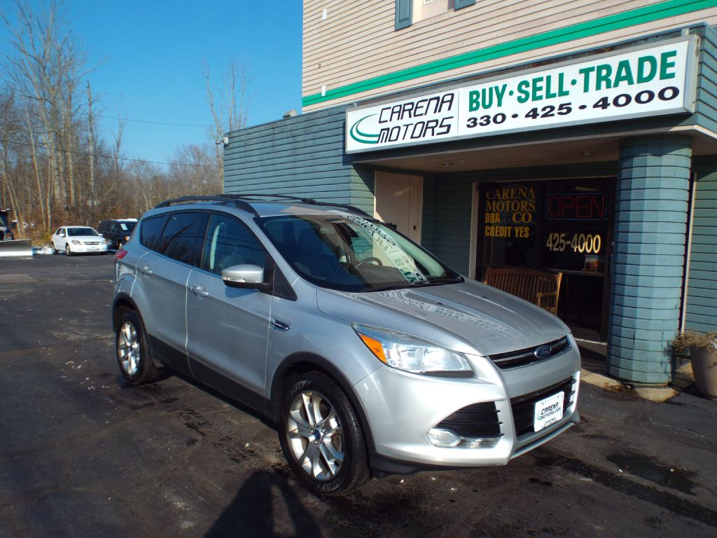 2013 FORD ESCAPE SEL for sale in Twinsburg, Ohio