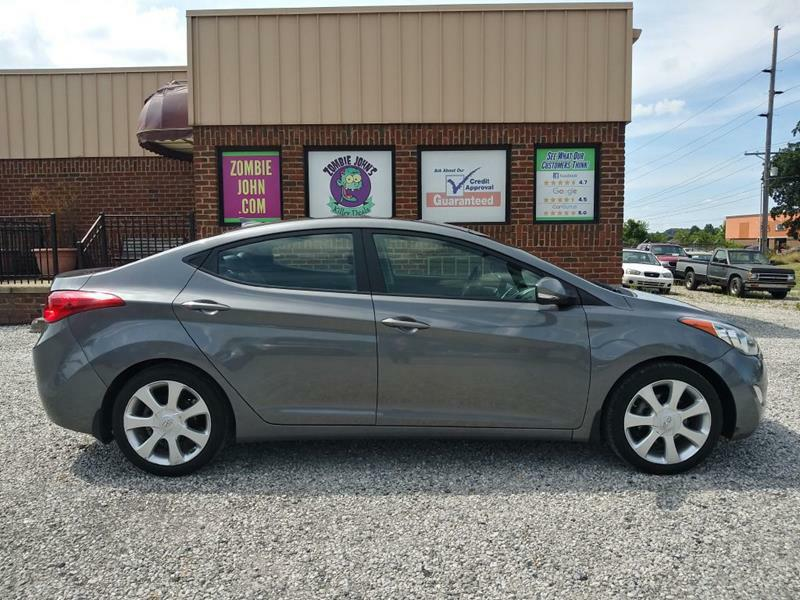 2012 HYUNDAI ELANTRA GLS 6A for sale at Zombie Johns