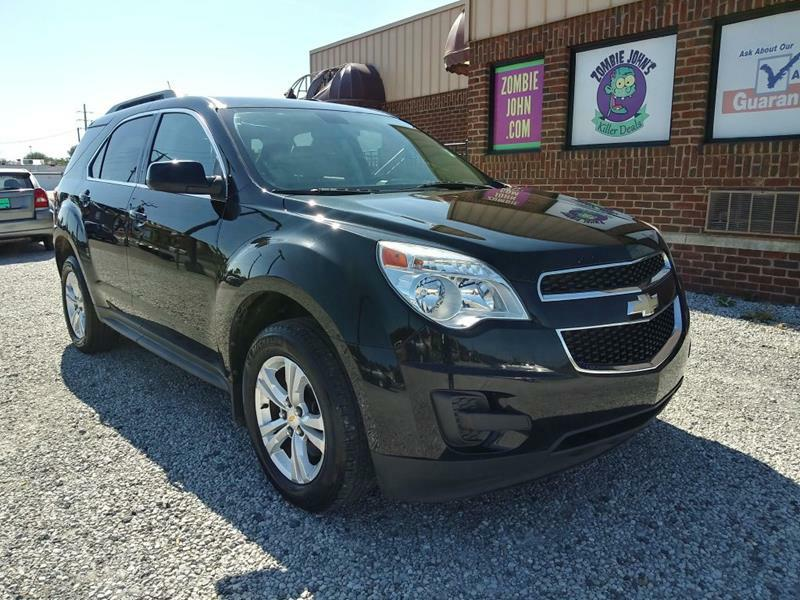 2011 CHEVROLET EQUINOX LT w/1LT for sale at Zombie Johns
