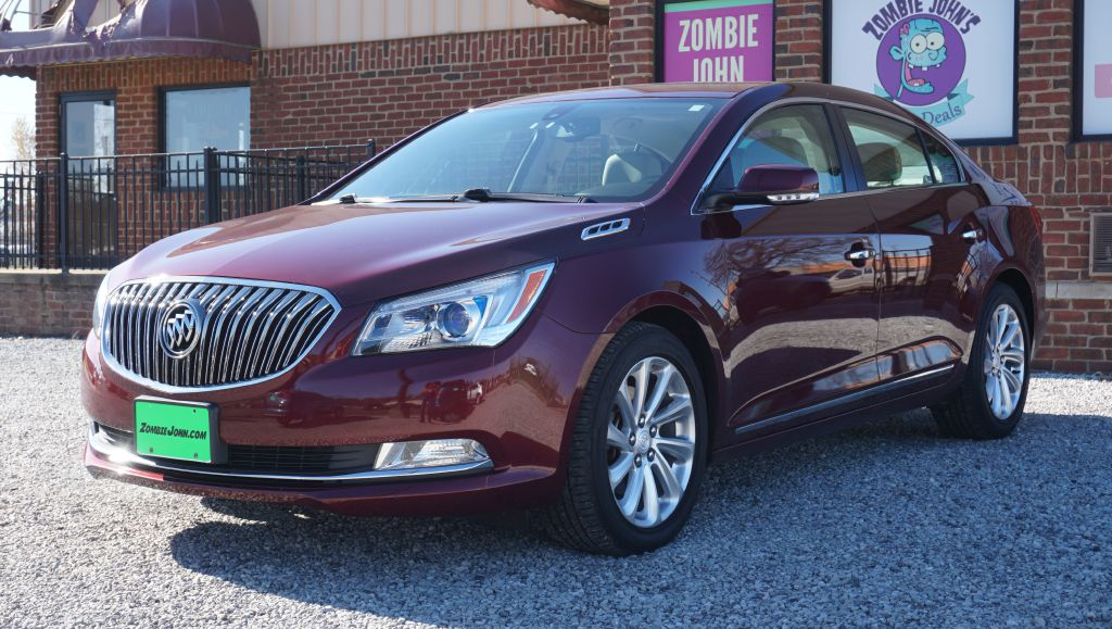 2015 BUICK LACROSSE LEATHER 1SL for sale at Zombie Johns
