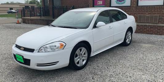 2011 CHEVROLET IMPALA LS for sale at Zombie Johns