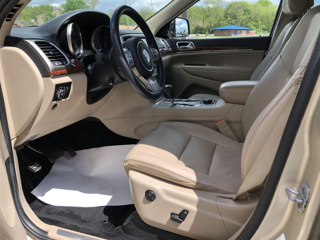2012 JEEP GRAND CHEROKEE LIMITED for sale at Zombie Johns