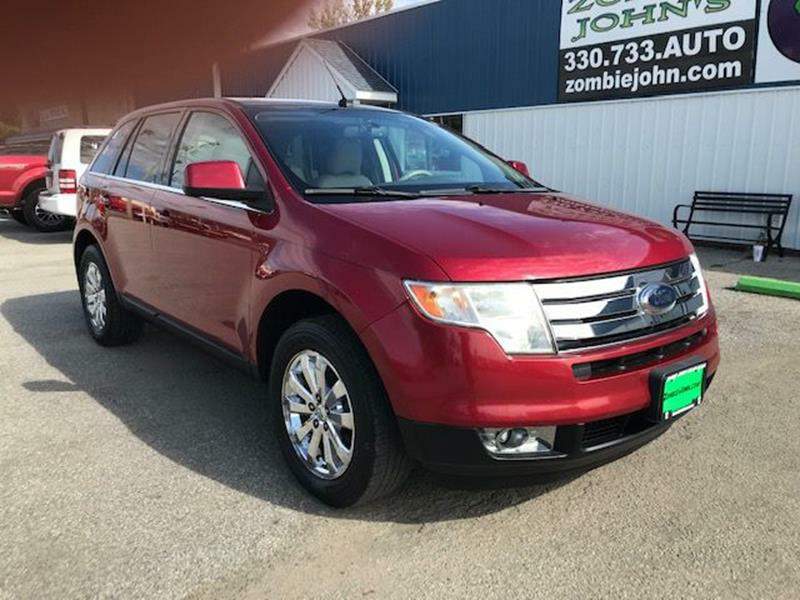 2009 FORD EDGE Limited Crossover