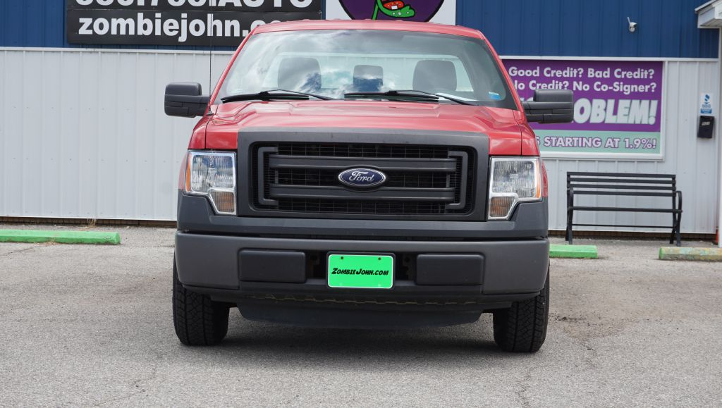 2013 FORD F150 REG CAB for sale at Zombie Johns