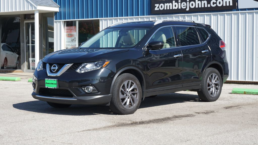 2016 NISSAN ROGUE SL AWD for sale at Zombie Johns