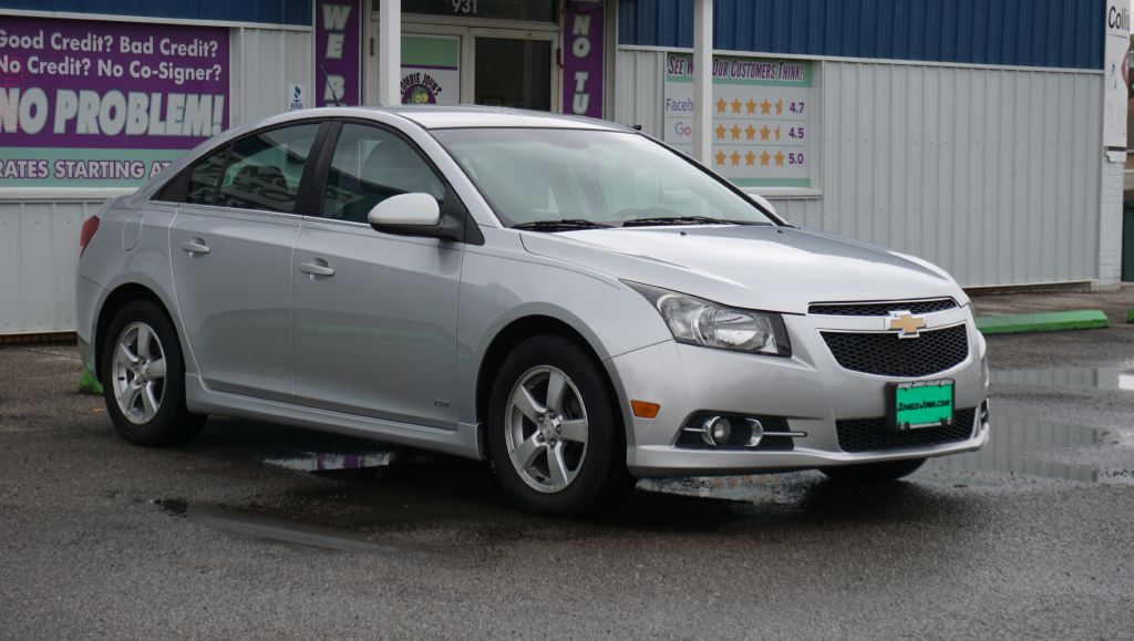 2012 CHEVROLET CRUZE LT for sale at Zombie Johns