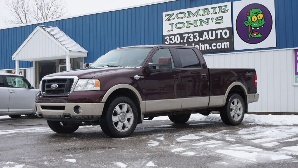 2008 FORD F150 SUPERCREW 4*4 for sale at Zombie Johns
