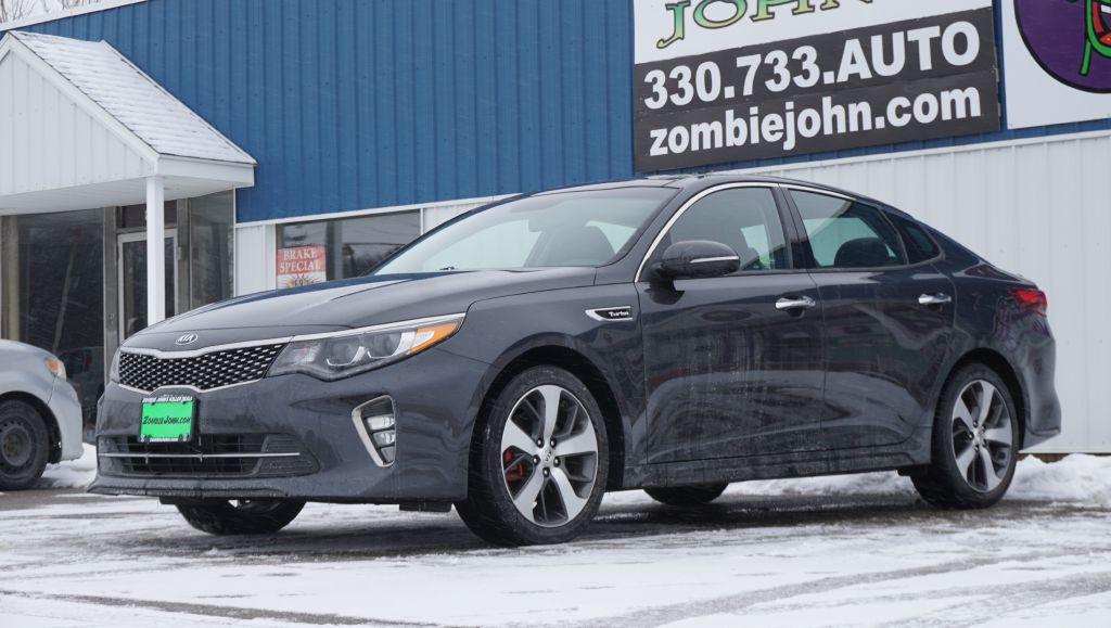 2018 KIA OPTIMA SX TURBO for sale at Zombie Johns