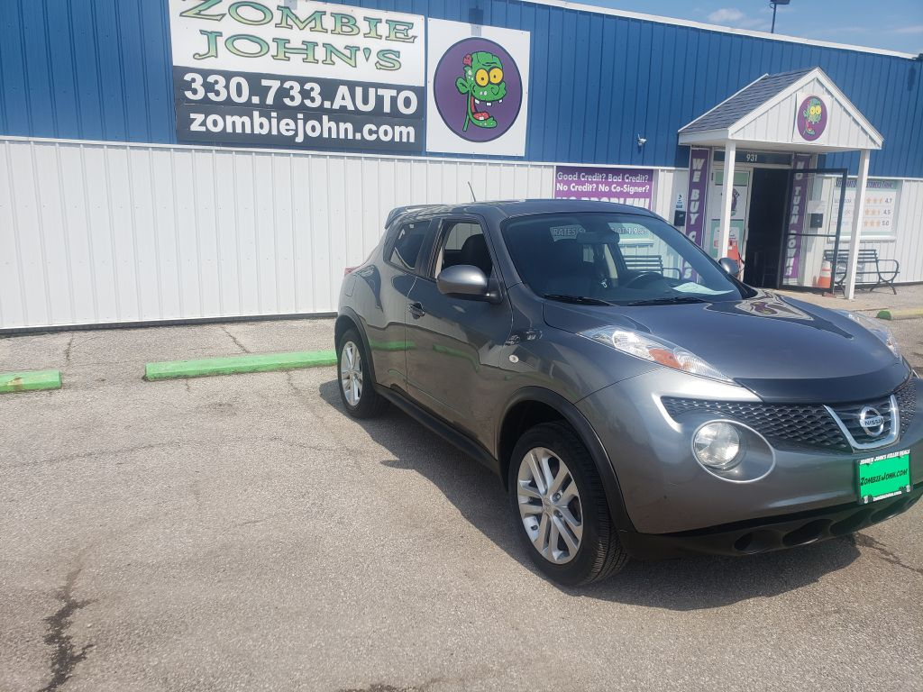 2012 NISSAN JUKE S S for sale at Zombie Johns