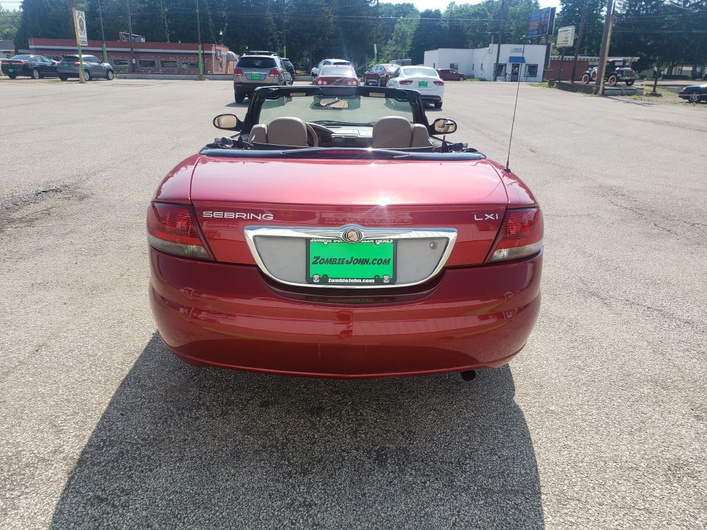 2004 CHRYSLER SEBRING LXI for sale at Zombie Johns