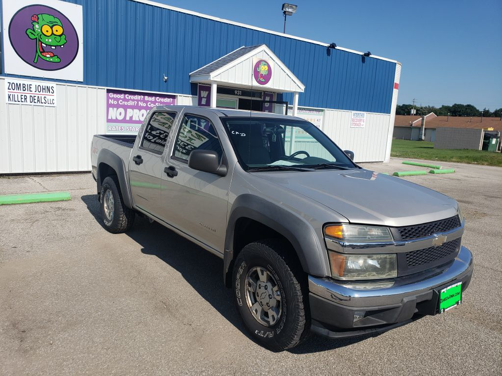 2005 CHEVROLET COLORADO Z71 PU for sale at Zombie Johns
