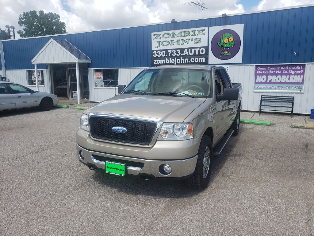 2008 FORD F150 EXTANDED CAB