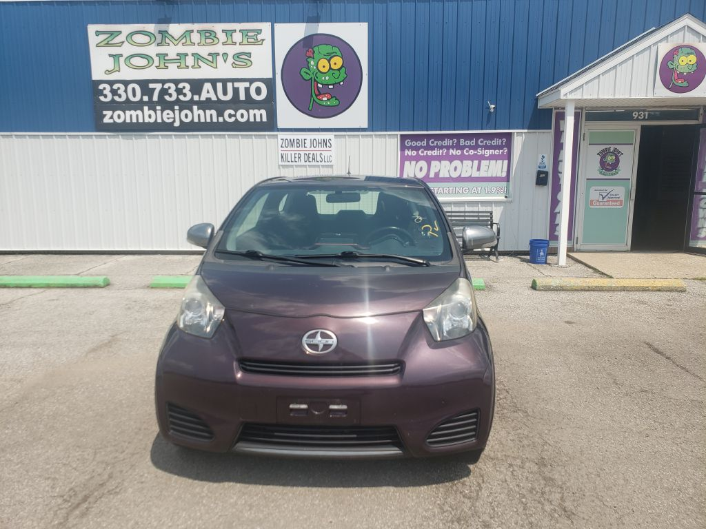 2012 SCION IQ HATCHBACK for sale at Zombie Johns